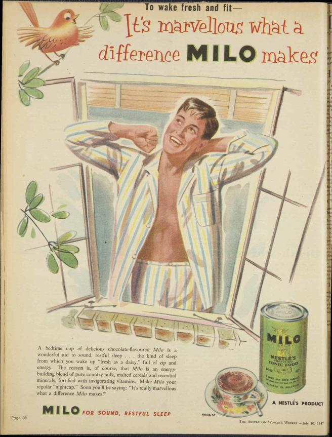 Milo 10 July 1957