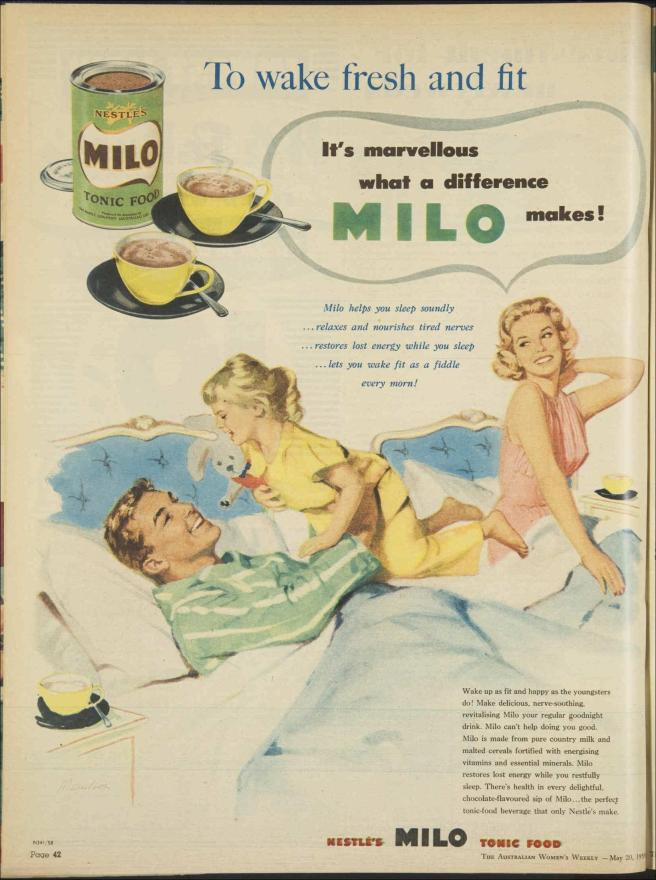 Milo 20 May 1959