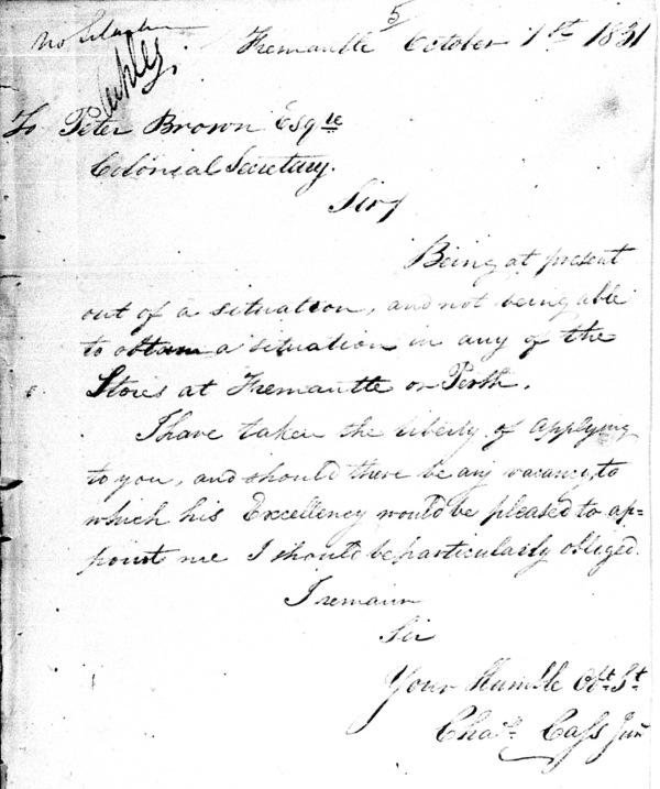 Cass Letter