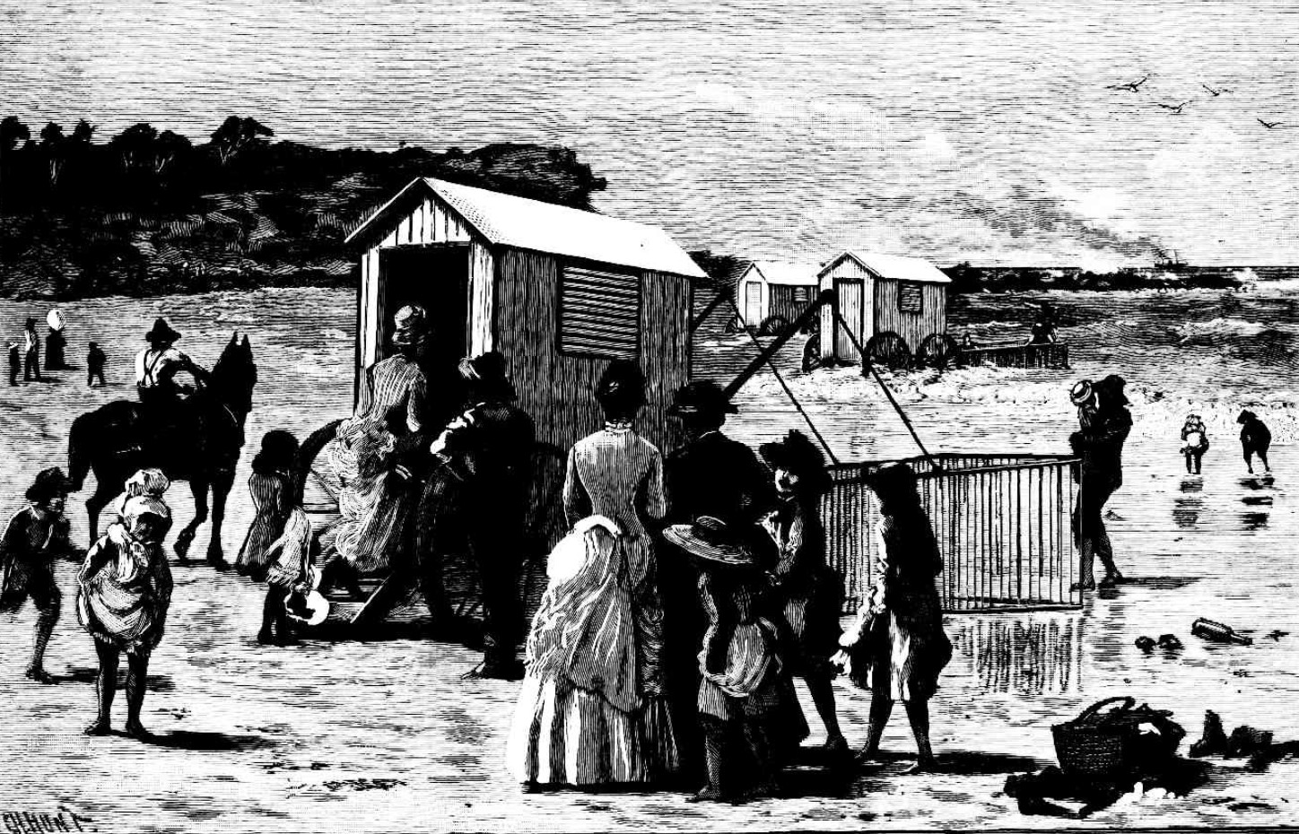 Sea Bathing in the Victorian Era