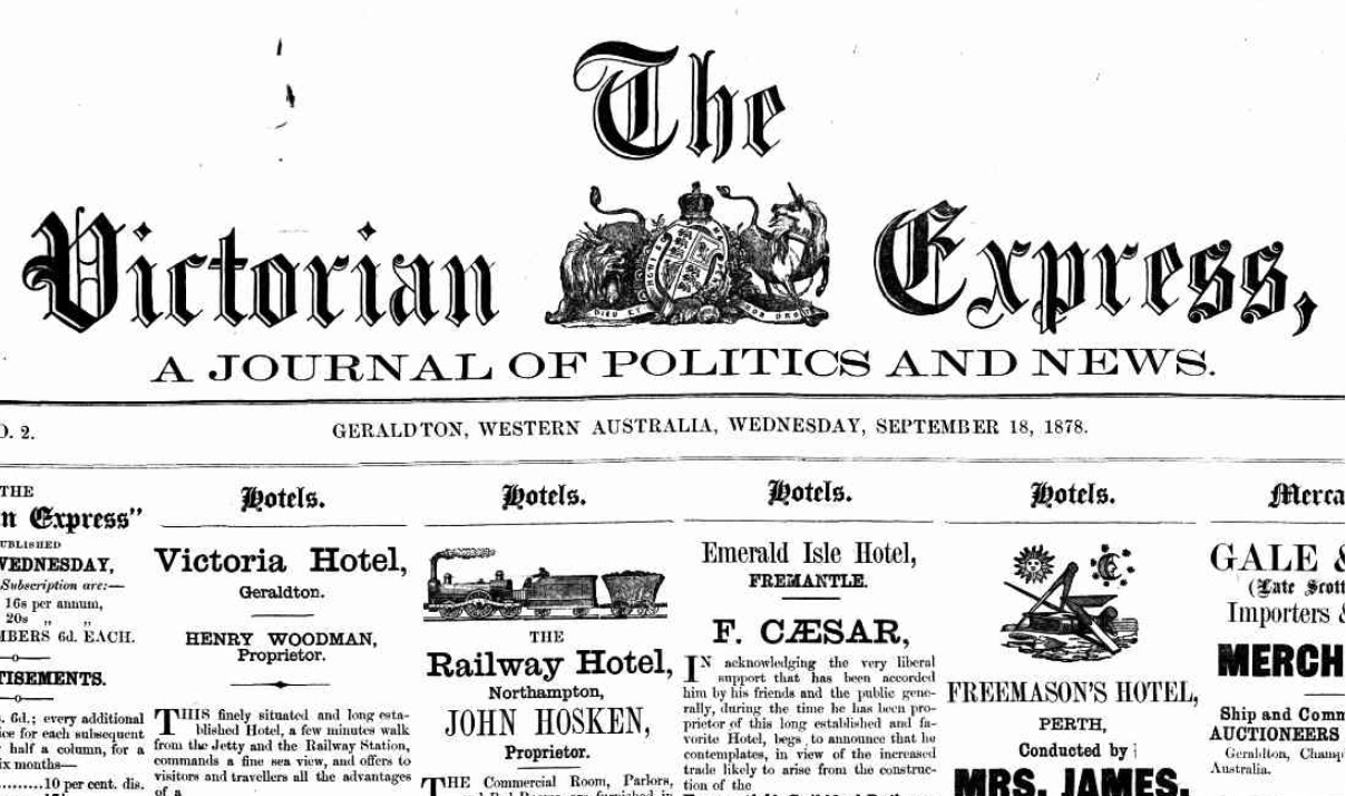 The Second Issue of the Victorian Express